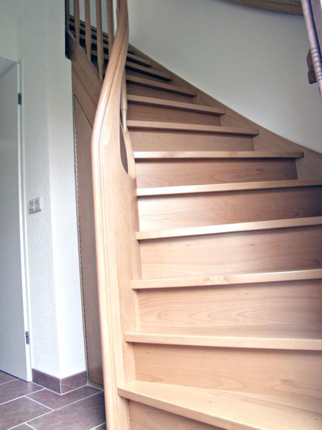Amsterdam comfort trappen - Aanpassen van een houten trap ...