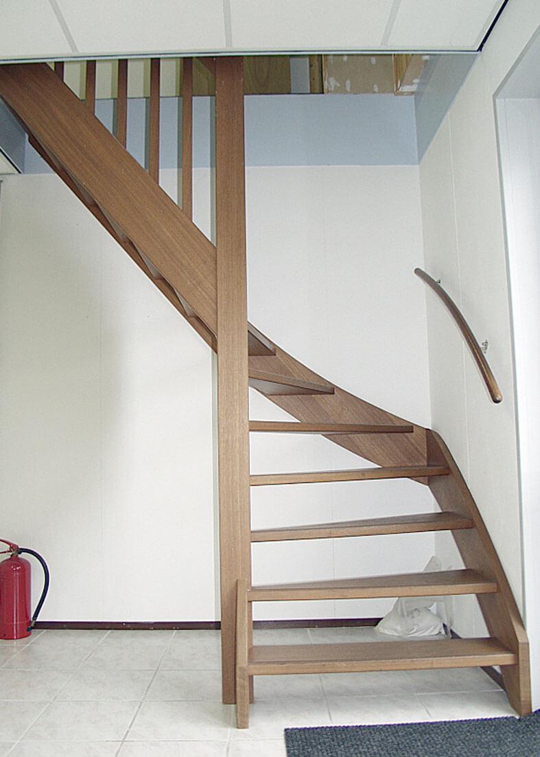 onderkwart trap productnr 000025 comfort trappen