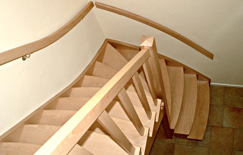 Onderkwart trap productnr 000020 comfort trappen for Trap onderkwart